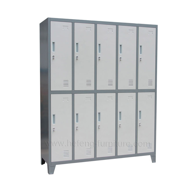Vestiaire Metallique 10 Cases