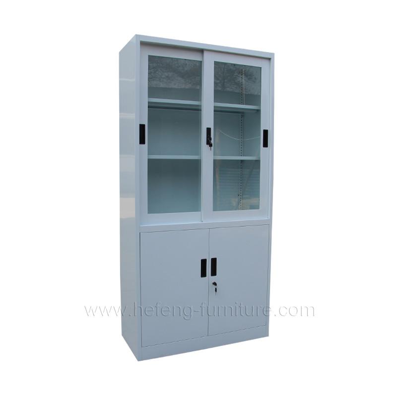 armoire de rangement métallique