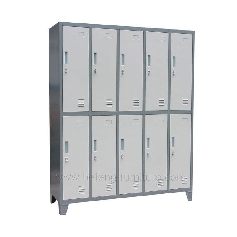 Vestiaire Metallique 10 Cases