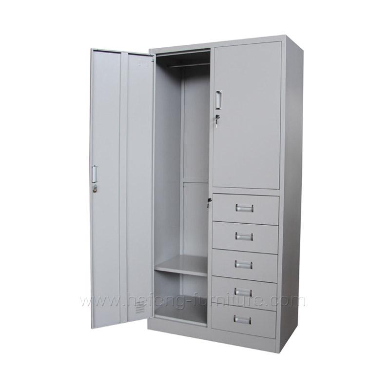 Armoire rangement bureau à 5 tiroirs